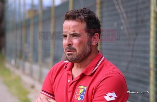 Enrico Sardo, allenatore della Dianese & Golfo