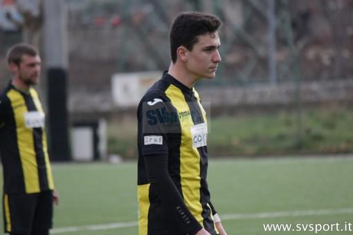 Giacomo Fazio, terzino destro classe 1999, nella scorsa stagione all'Alassio FC