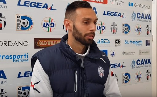"""Calcio, Eccellenza: Simone Guarco esalta l'Imperia """"Questa squadra non molla mai! Vado e Savona? Le seguo sempre"""""""