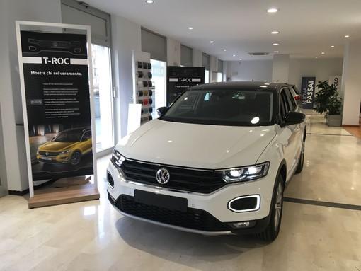 """La concessionaria """"Barbieri"""" di Savona presenta la nuova Volkswagen T-Roc"""