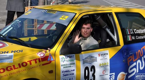 """Rally, Danilo Costantino debutta nel CIR: """"Orgoglioso di poter partecipare alla Suzuki Cup"""""""