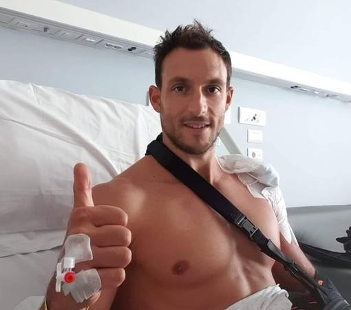 """Pallanuoto, Matteo Aicardi operato alla spalla. La Pro Recco: """"Auguri campione!"""""""
