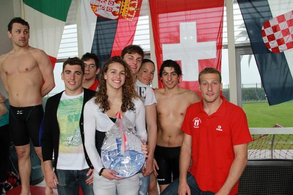 Nuoto venerd alla piscina zanelli il quinto trofeo for Piscina quinto genova