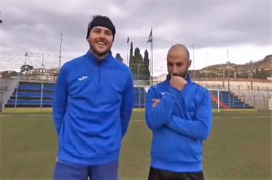 """Calcio, Imperia. Voglia di derby per Giglio e Trucco: """"E' la partita da non sbagliare"""" (VIDEO)"""