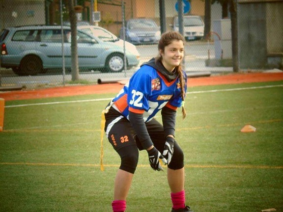 Vista azzurra per Carola Bianchelli, test con l'Under 17 per la portacolori dei Pirates