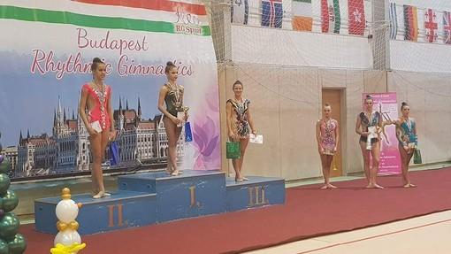L'ASD Ginnastica Libera di Spotorno sul podio a Budapest