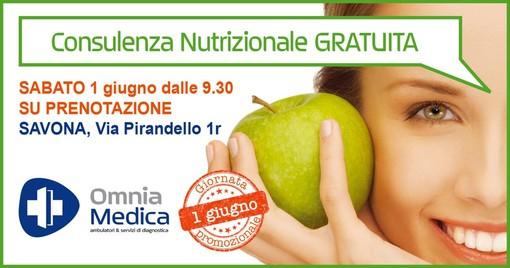 Check up nutrizionale gratuito all'Omnia Medica con la dottoressa Raffaella Verney