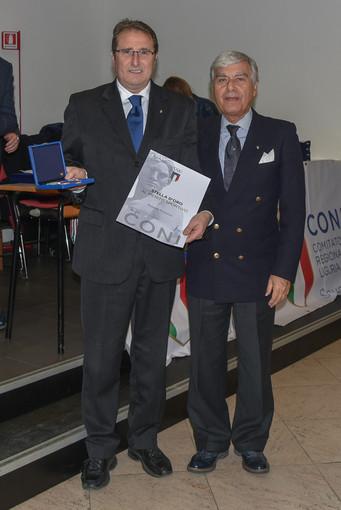 Roberto Pizzorno riceve la Stella d'oro del CONI