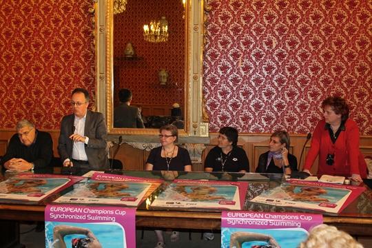 Syncro presentata nella sala rossa del comune di savona la coppa europa - Piscina zanelli savona ...
