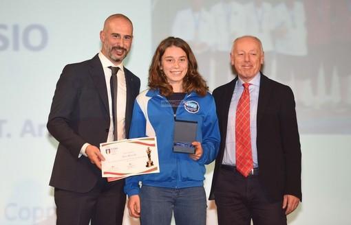 Canottaggio, European Rowing Coastal Challenge: la Canottieri Santo Stefano al Mare festeggia l'oro di Alice Ramella nel singolo junior Beach Sprint
