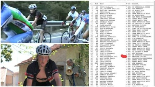 Ciclismo, da Osiglia al trionfo al Giro d'Italia: la Val Bormida nel percorso di Tao Geoghegan Hart