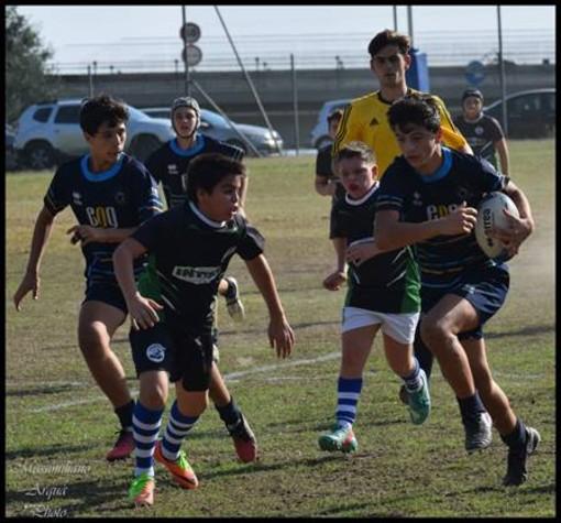 Palla ovale. Imperia Rugby under 14 a valanga sul Savona