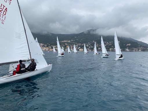 Alassio: troppo vento, confermate le classifiche di sabato per la Classe italiana Flying Dutchman