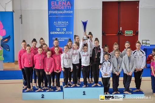 Ginnastica: grande successo per il trofeo Elena Ghidetti