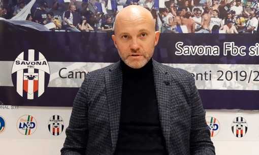 """Calcio. Savona, il ds Papa rende merito a tutte le persone che stanno lavorando per il bene della squadra: """"L'obiettivo numero uno è trovare serenità, il progetto sportivo per cui sono stato chiamato non è fallito"""" (VIDEO)"""