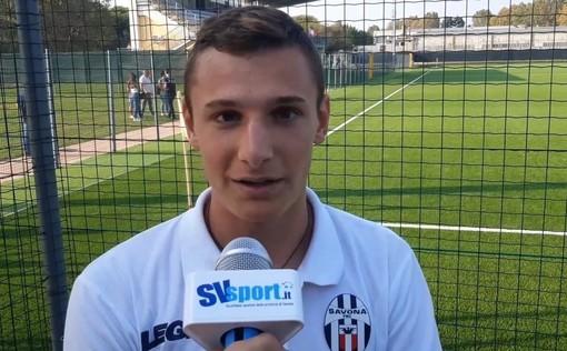 """Calcio. Savona, buon debutto stagionale per Jonathan Lazzaretti: """"Grazie a mister Siciliano per la fiducia, spero di potermi togliere qualche soddisfazione"""" (VIDEO)"""