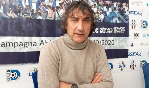 """Calcio. Savona: si torna al """"Bacigalupo"""" per il derbyssimo con la Sanremese. De Paola: """"Noi siamo pronti, è una gara che va giocata con il sangue agli occhi"""" (VIDEO)"""