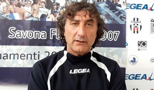 """Calcio. Savona, domani il delicato recupero di campionato contro il Bra. De Paola: """"Importante fare risultato, anche se i ragazzi non sono molto sereni"""" (VIDEO)"""