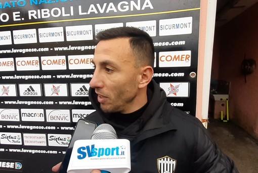 """Calcio, Serie D. Reti inviolate tra Lavagnese e Savona, niente gol dell'ex per Pietro Tripoli: """"Ma sono partite dai miei piedi le azioni più pericolose..."""""""