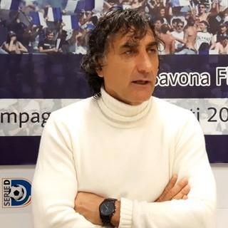 """Calcio. Savona, si allunga la striscia di successi dopo la grande vittoria nel derby contro il Vado. De Paola: """"Ragazzi eccezionali, stiamo cercando di trasformare le difficoltà in qualcosa di positivo"""" (VIDEO)"""