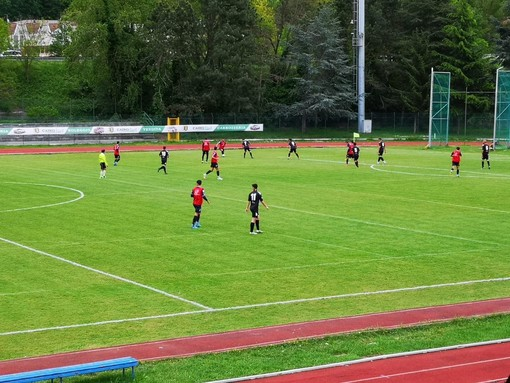 Calcio, test di fine stagione ricco di novità per l'Albissola: Rezi, Bajric, Pucinelli e il portiere Brizio in campo nel 3-1 al Bra
