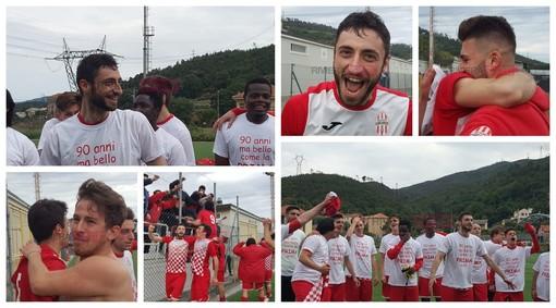 Calcio. OLIMPIA CARCARESE IN PRIMA CATEGORIA: SCATTA LA GRANDE FESTA (FOTOGALLERY)