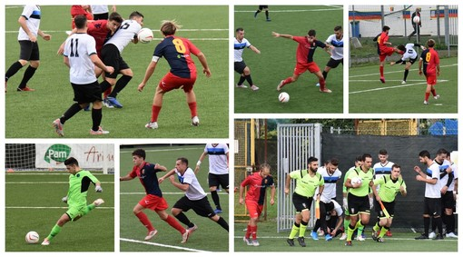 Calcio, Promozione. Dianese&Golfo-Varazze 2-2: spettacolo al 'Marengo' (FOTO e VIDEO)