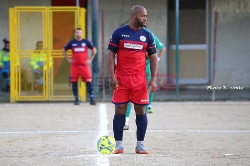 Rocky Siberie, attaccante del Camporosso (foto Eugenio Conte)