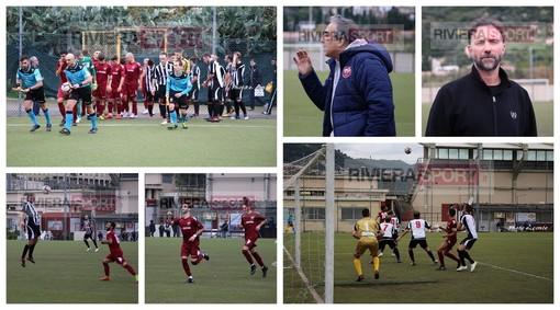 Calcio, Eccellenza. Ventimiglia-Albenga 1-0: riviviamo il derby ponentino deciso da Luca Sammartano (FOTO e VIDEO)