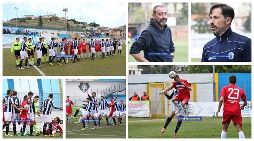 Calcio, Serie D. Sanremese-Savona, derby spettacolo al 'Comunale': tutto il match in 67 scatti (FOTO)