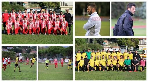 Calcio, Prima Categoria. Don Bosco Valle Intemelia-Aurora 0-1: il match nei 73 scatti di Eugenio Conte (FOTO)