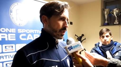 """Calcio, Savona, Grandoni applaude i biancoblu: """"Vinto contro una squadra forte, complimenti ai ragazzi"""" (VIDEO)"""