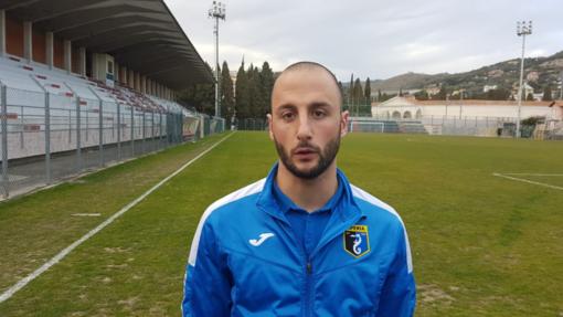 Giuseppe Giglio, centrocampista dell'Imperia