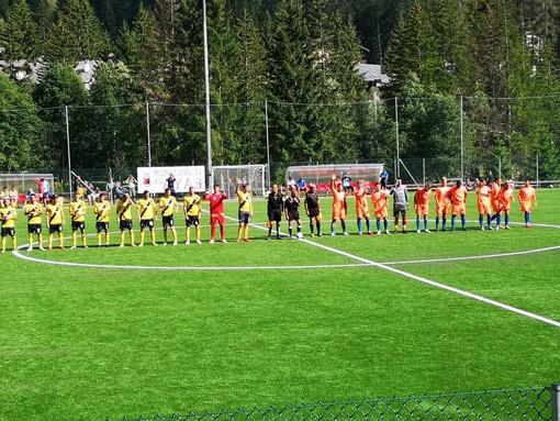 Calcio, il Savona pareggia l'amichevole di Champoluc: con il Pont Donnaz finisce 1-1