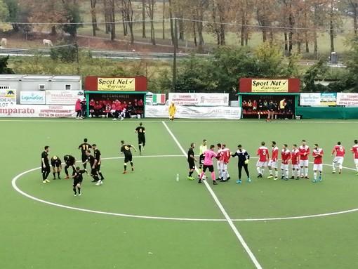 Calcio, Prima Categoria: Carparelli e Tarditi mandano al tappeto l'Olimpia Carcarese, prima vittoria per il Soccer Borghetto