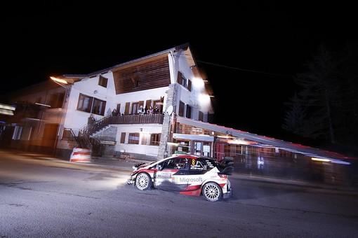 Rally di Monte Carlo: Ott Tanak e Toyota subito al comando