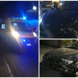 Tovo, scontro tra due auto lungo la Sp4: due feriti al Santa Corona