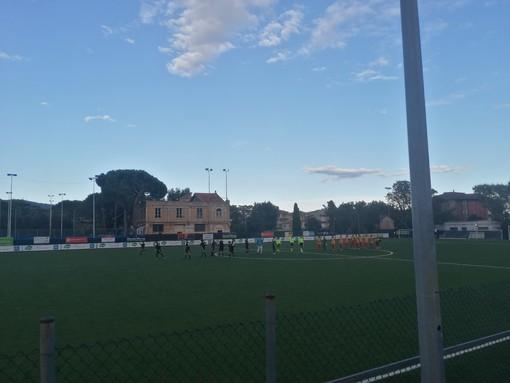 Calcio, Coppa Italia Eccellenza. La doppietta di Fabbri esalta il Finale: Ospedaletti battuto 2-1
