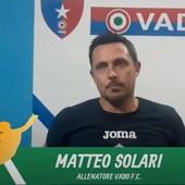 """Calcio, Vado. Solari si gode prestazione e passaggio del turno: """"Importante vincere contro una squadra forte, ma dobbiamo migliorare sotto molti aspett"""" (VIDEO)"""