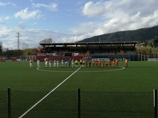 Calcio, Eccellenza. Triplo Parodi, il Sestri conquista partita e vetta della classifica. Finale battuto 3-0