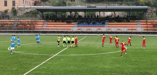 Calcio. Coppa Italia di Eccellenza: punteggio tennistico per l'Albenga, 6-1 al Pietra Ligure