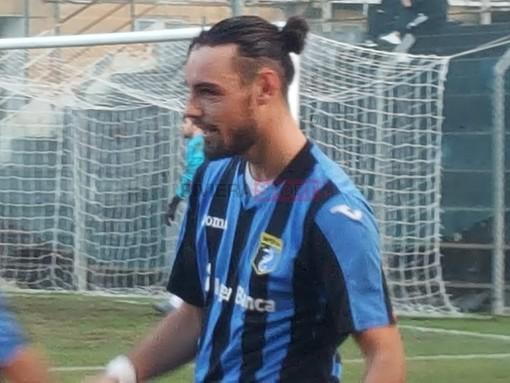 Luca Dinaggio, attaccante dell'Imperia