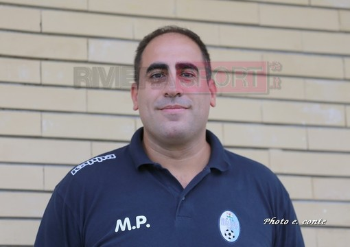 Mario Pisano, allenatore del Pietra Ligure