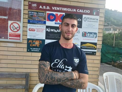 Michael Ventre, numero 10 del Ventimiglia
