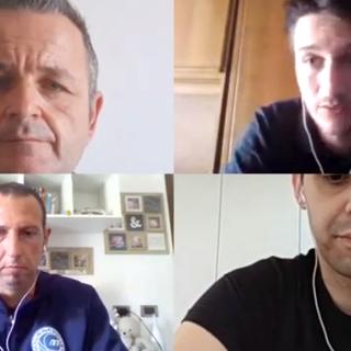 Luca Gallo e Marco Oddera i due allenatori di Maurina Strescino Imperia e Carcare ospite dei nostri quotidiani online
