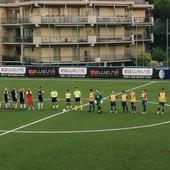 Calcio, Eccellenza. Albenga corsara: un gol per tempo decidono il match, al Pietra non basta Metalla