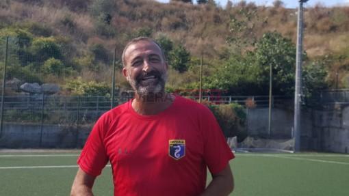 Alessandro Lupo, prima stagione sulla panchina dell'Imperia (foto Christian Flammia)