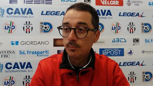 """Calcio. Serie D, mister Longo si gode il momento magico della Folgore Caratese: """"Abbiamo probabilmente avuto più voglia di vincere rispetto al Savona"""" (VIDEO)"""