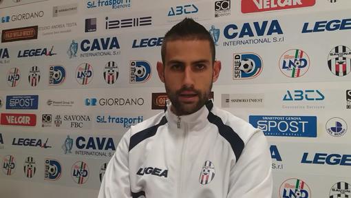 """Calcio, Savona. Francesco Virdis a quota 59 gol in biancoblù. """"Non mi aspettavo di partire dalla panchina, ma rispetto totalmente le scelte del mister""""  (VIDEO)"""