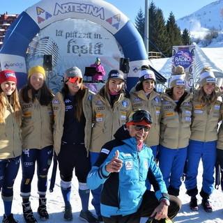 Sci alpino: il trio delle meraviglie Goggia-Brignone-Bassino a pochi chilometri dalla nostra provincia, stage ad Artesina (Foto e Video)